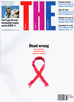 Times Higher Education front cover